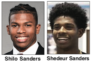 Jackson State University football Coach Deion Sanders will now have two sons playing for him next season.