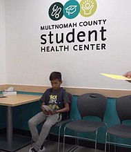 Multnomah County and the Reynolds School District open a new Student Health Center at Reynolds High School in Troutdale.