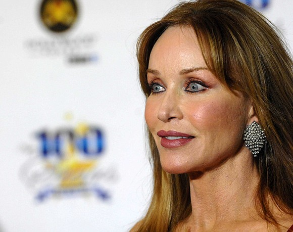 """Actress Tanya Roberts, who is best known for her role as a Bond girl in """"A View to a Kill"""" ..."""