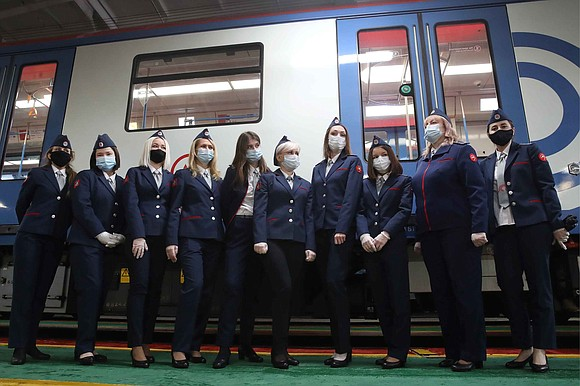 Trains on the Moscow's famous Metro subway system will now be driven by women, after a decades-long ban on female ...