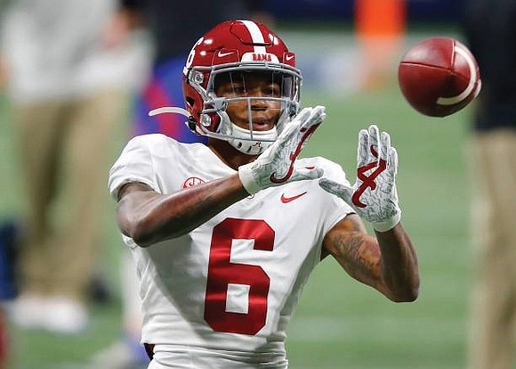For many decades, it seemed wide receivers need not apply for the Heisman Trophy. Then along came DeVonta Smith to ...