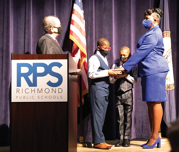 The East End gained another leadership post with Cheryl L. Burke's election as the new Richmond School Board chair.