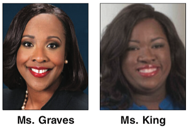 The Virginia Legislative Black Caucus gained two new members Tuesday night as the result of special elections to fill vacant ...