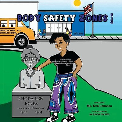 """Baltimore-based social worker and therapeutic consultant Terri Johnson is the author of """"Body Safety Zones Activity and Coloring Book."""" The book follows a school social worker and students discussing the four """"body safety zones""""— mouth, chest, private parts and bottom."""
