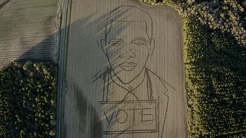 Atlanta— In a stunning poetic short, John Lewis's words about our planet united with the imagery of his crop art ...