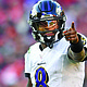 As the No. 4 seed in the AFC playoffs, the Baltimore Ravens will get a chance to revenge last season's loss when they travel to Nissan Stadium in Nashville to face the Titans in the Wildcard round on Sunday, January 10, 2021. (Above) Baltimore Ravens quarterback Lamar Jackson.