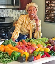 "AnDrea ""Fuzzy"" Lyn Dixon created her brand to encourage people to eat more vegetables. Now, she has created the Eat Your Veggies Box, which delivers fresh produce straight to people's homes. Photo courtesy of AnDrea Lyn Dixon"