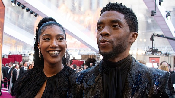 Simone Ledward Boseman tearfully paid tribute to her late husband Chadwick Boseman Monday night during the 30th annual IFP Gotham ...