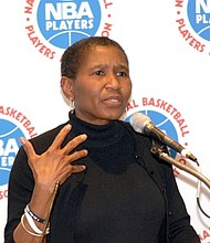 NBA Players Executive Director Michelle Roberts