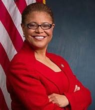 Rep. Karen Bass.