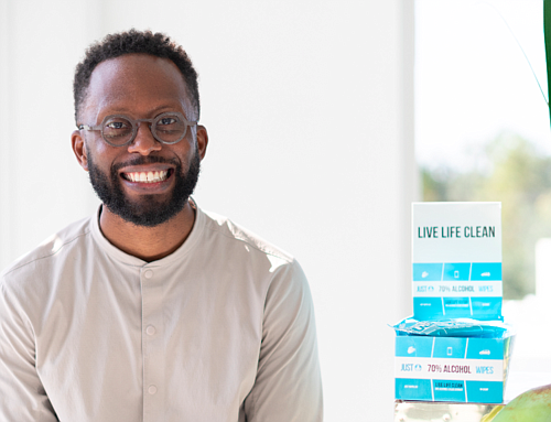 """Houston— Engineer and entrepreneur Devon Fanfair has proudly launched his sanitizing product, Just Wipes to help consumers """"Live Life Clean."""" ..."""