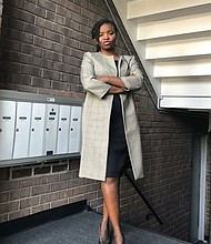 University of Baltimore student Tatiana Kolani was a recipient of the United by Purpose scholarship to create a museum-gallery with the goal of bringing African culture to America.