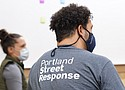 Members of Portland's Street Response team undergo training as part of a new program to help people living on the streets in times of crisis rather than routing them through the criminal justice system.