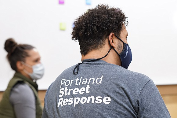 Trained health care professionals who are not members of law enforcement have started to assist people in Portland as part ...