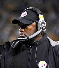 The Pittsburgh Steelers' Mike Tomlin is currently only one of two Black NFL head coaches.