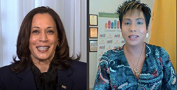 On Sunday night U.S. Vice President-elect Elect Kamala Harris delivered a special message to thousands of Caribbean Americans, gathered virtually ...
