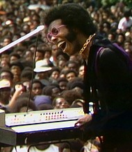 "A still from ""Summer of Soul (Or, When the Revolution Could Not Be Televised)' by Ahmir ""Questlove"" Thompson, an official selection of the U.S. Documentary Competition at the 2021 Sundance Film Festival"