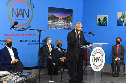 Rev. Al Sharpton, and his National Action Network invited Congressman Charles Rangel, Mayor Bill de Blasio, Manhattan Borough President Gail Brewer, and several mayoral candidates to the annual Rev. Dr. Martin Luther King Day (MLK) celebration