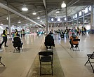 The cavernous Old Dominion Building at Richmond Raceway offers enough space
