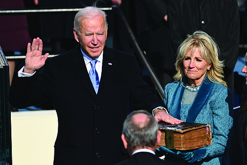 President Joe Biden was sworn in as the 46th president of the United States Wednesday, ushering in a new era ...