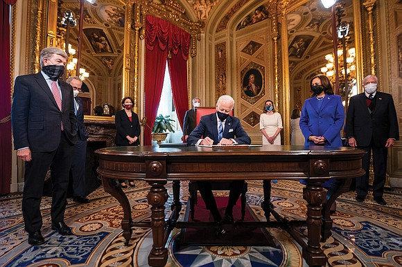 President Biden's launch this month of a series of ambitious goals focused on resetting the nation's agenda is being steadily ...