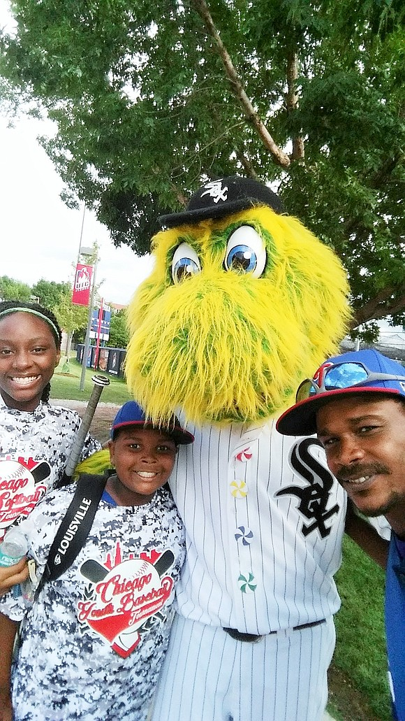 LaVonte Stewart, founder of Lost Boyz, Inc., grew up in South Shore and uses his love of baseball to support ...