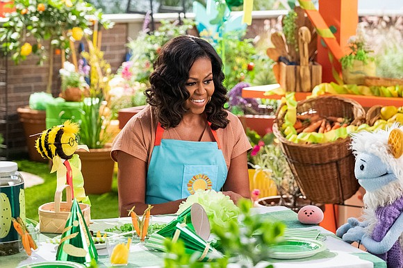 Former First Lady Michelle Obama is launching a kid-centric cooking show on Netflix.