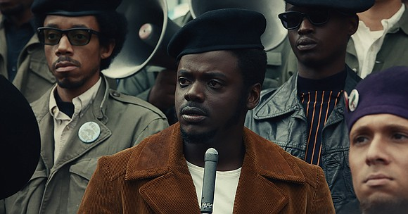 "There was a moment filming ""Judas and the Black Messiah"" that star Daniel Kaluuya will not forget."