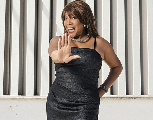 Mary Wilson, founding member of The Supremes, Motown's first and most influential girls group, is pictured during a 2014 portrait session at Capitol Records in Los Angeles. Wilson died Monday at 76 years old.  (AP photo)