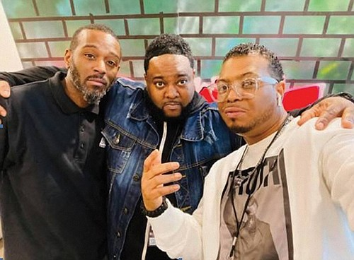 Rashod White, Jayvin Harper and Asa Spade are the Portland creators behind an entertainment and celebrity social media venture called P-Town Media.