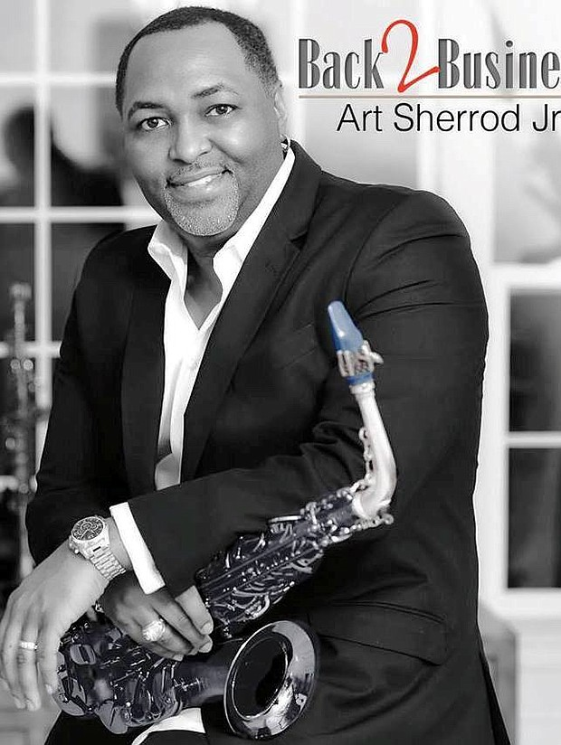 """Charm City Jazz presents a """"Saxy Valentine's Jazz Affair"""" featuring Art Sherrod Jr. on Sunday, February 14, 2021 at Magooby's Joke House & Sound Stage, 9603 Deereco Road in Timonium, Maryland. Social distance seating and masks are required. For more informa- tion, call 443-858-9781."""