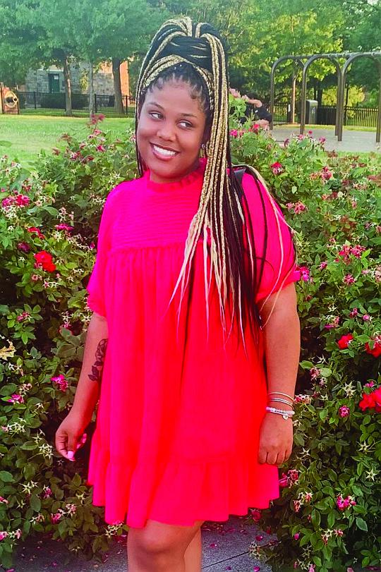 Kalyn Brown, recent college graduate