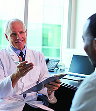 """[Men's Health Network] urges all men to become more knowledgeable about cancer and then 'man-up' by doing all you can to take responsibility for the health of yourself and those you care about,""""said Dr. Salvatore Giorgianni, Jr., senior science advisor for the Men's Health Network."""