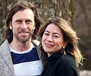 Evan MacKenzie and Christie Thompson