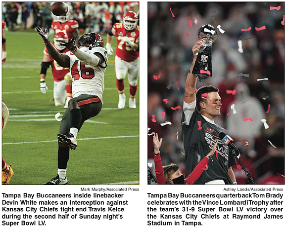 """You can call them the Tampa Bay Buccaneers, or the """"Tompa"""" Bay Bucs or """"Brady's Bunch,"""" or the golden oldies, ..."""