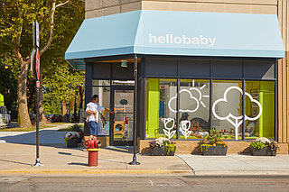 Hello Baby, located at 600 E. 61st St., was founded by Debbie Frisch, who wanted to provide resources to children ...