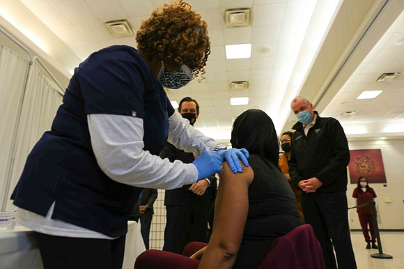 According to reports, African Americans in New Jersey account for less than 5% of people getting the COVID-19 vaccine. Black ...