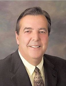 Former Palmdale Mayor Jim Ledford, who's accused of illegally..