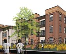 Rendering of Cameo Street Apartments in Jackson Ward.
