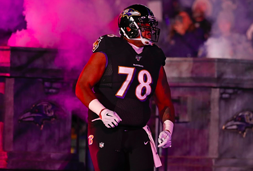 The Baltimore Ravens moved Orlando Brown Jr. to left tackle after Ronnie Stanley suffered a fractured and dislocated ankle against the Pittsburgh Steelers in November. Brown settled in to help steady the Ravens offensive line and now, he wants to stay on the left side.