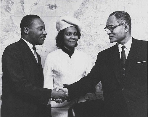 """Dr. Ralph J. Bunche earned the moniker """"a hero of U.S. Diplomacy,"""" in part for efforts that led to his ..."""