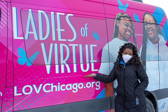 For Valentine's Day, Ladies of Virtue hosted an event to show young Black women how much they are loved. The ...