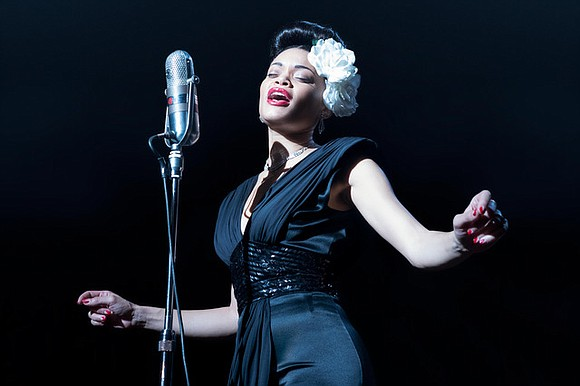 It's a major showcase of the brilliant musical talent Andra Day...