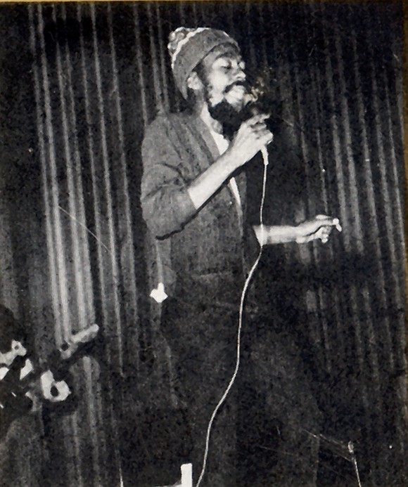 """Ewart """"U-Roy"""" Beckford, who perfected the art of toasting, a form of deejaying while adding lyrics over his records, and ..."""