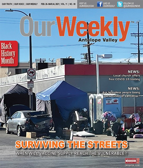 Skid Row in Los Angeles is a major COVID-19 hotspot...