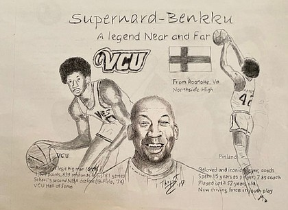 "Bernard Harris: This VCU Ram once told me, ""If you ain't laughing, you ain't living."" ""Supernard"" became ""Benkku"" in Finland, where he moved."