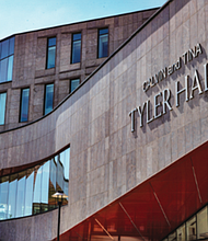 The building bearing their name, Calvin and Tina Tyler Hall Student Services Center officially opened in the fall of 2020.