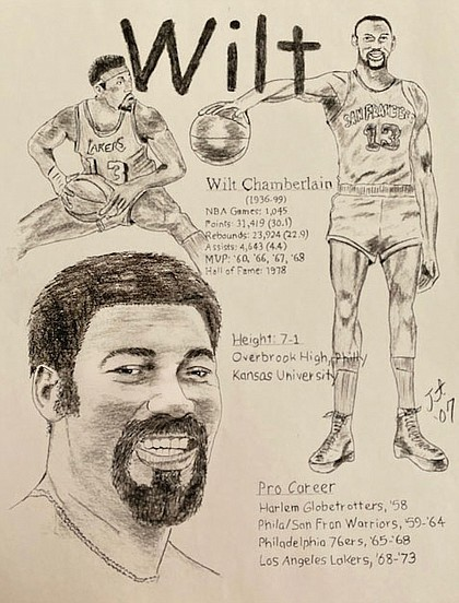 "Wilt Chamberlain: A true colossus, ""Wilt the Stilt"" was bigger than life, towering above every one of his generation."