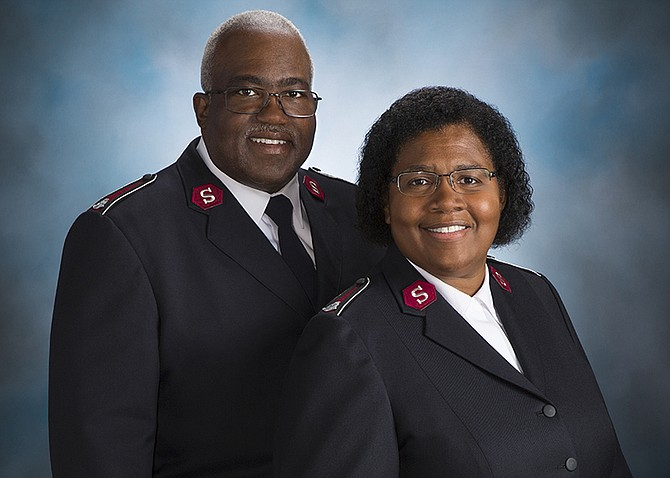 Lt. Colonels Lonneal and Patty Richardson