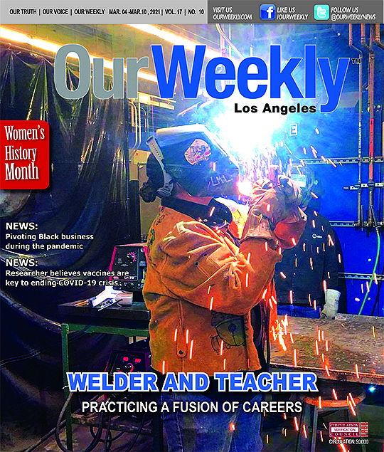 The welding trade is a unique profession for women...